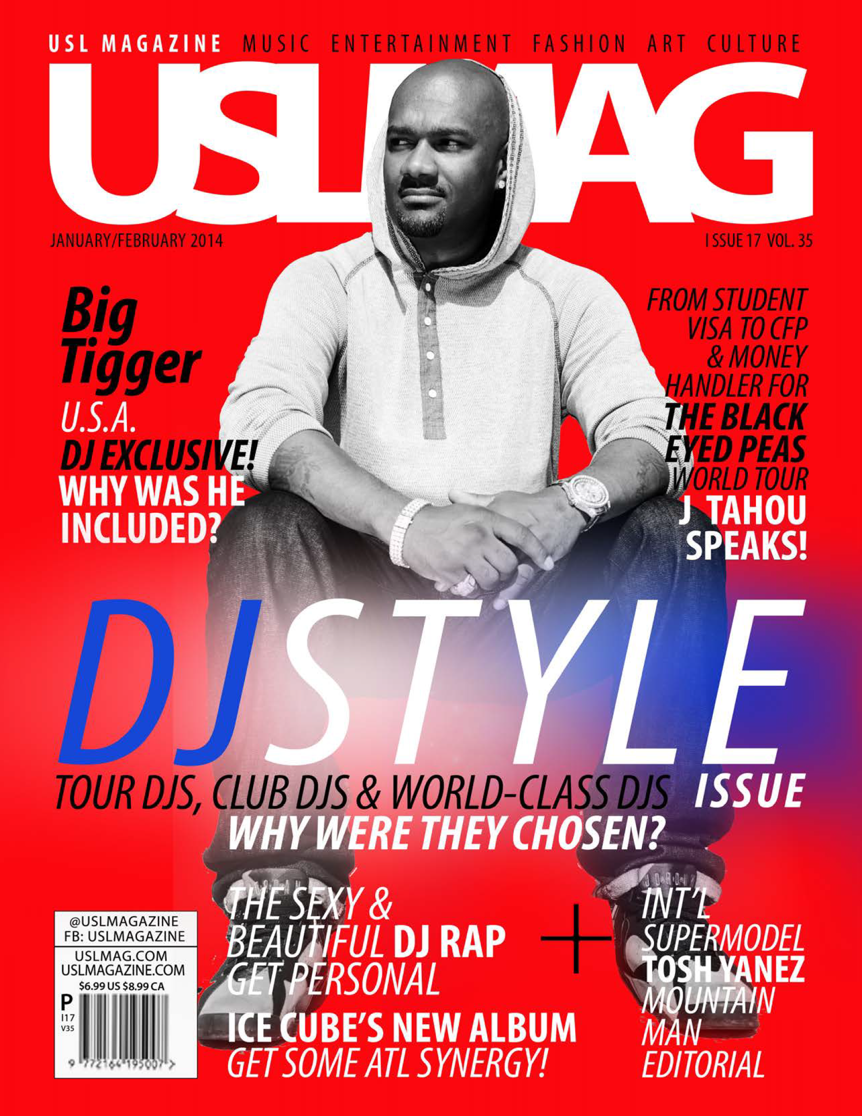 USL Magazine Cover - USA Issue - January/February 2014